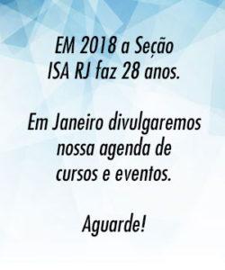 Aniversário ISA 2018